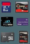 Récupération données carte mémoire